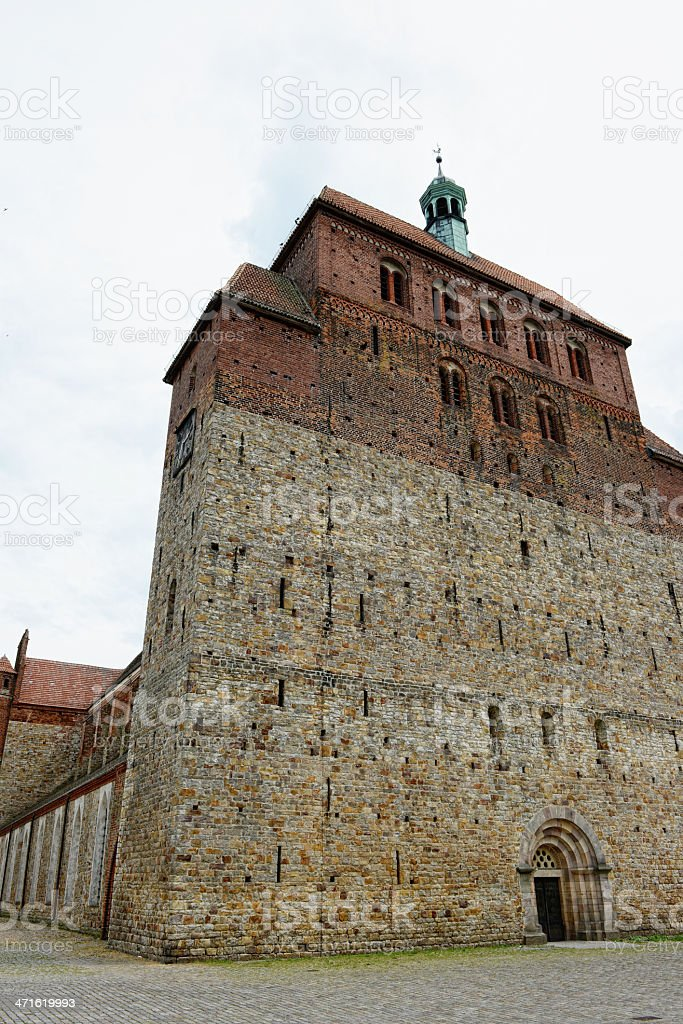 Cathedral of Havelberg (Saxony-Anhalt, Germany) stock photo
