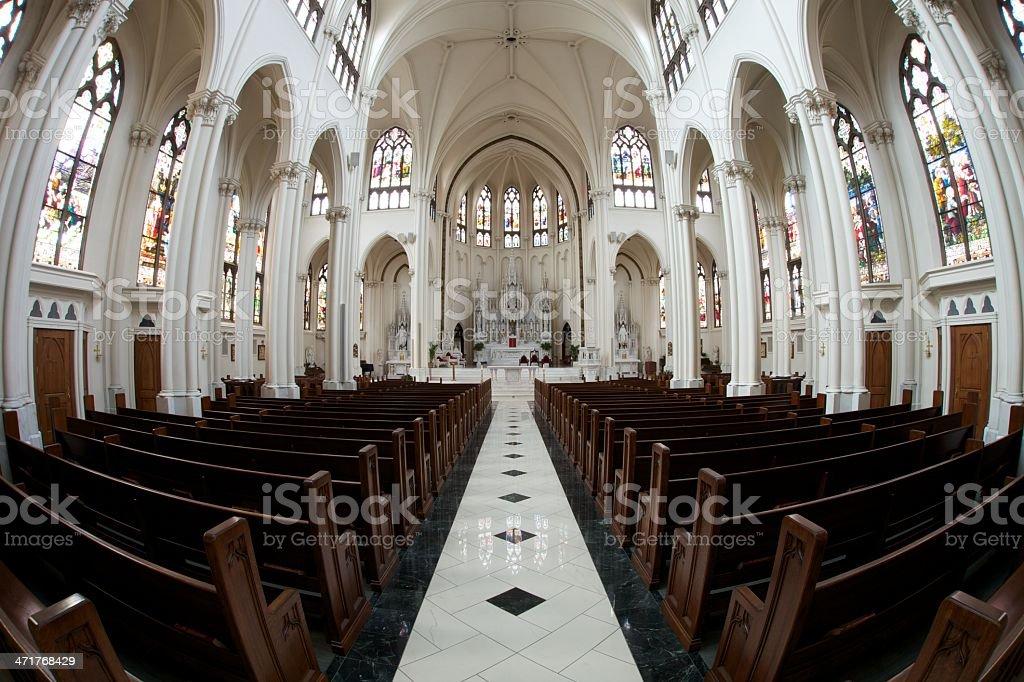 Basilica dell'Immacolata Concezione foto stock royalty-free