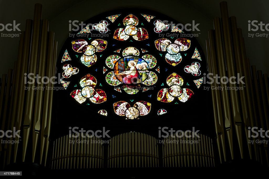 Cathedral of Immaculate Conception stock photo