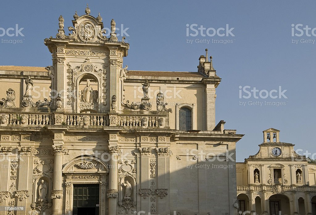 Cathedral of Lecce royalty-free stock photo