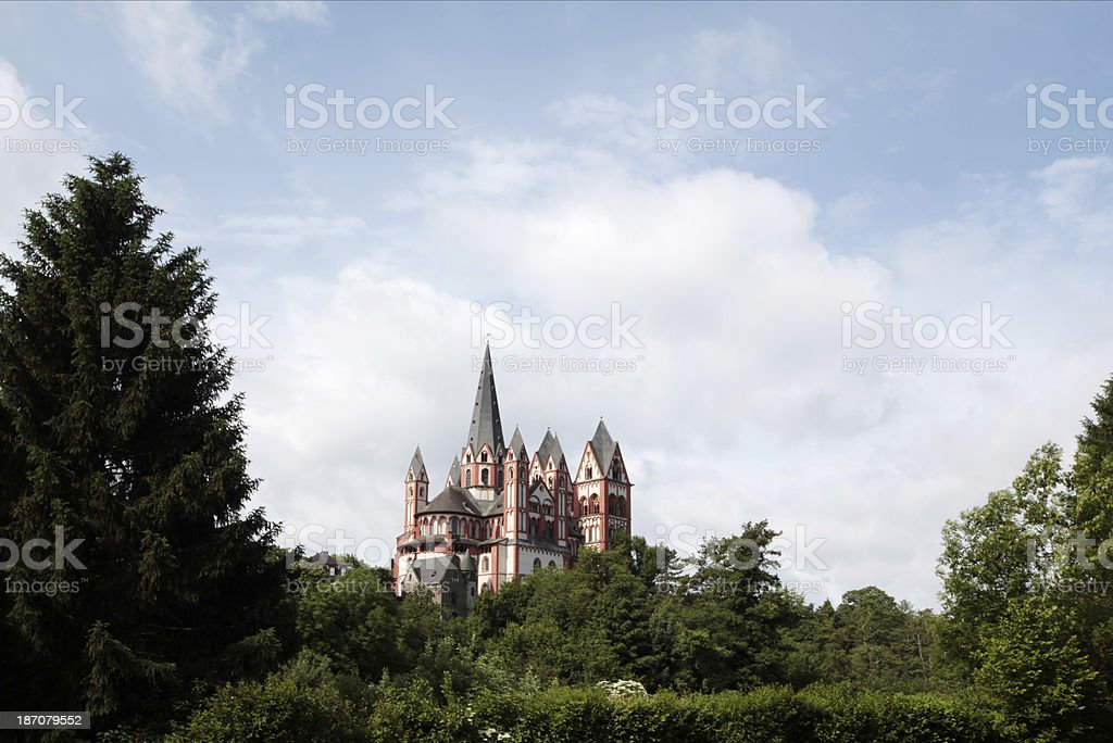 Cathedral of Limburg a/d Lahn stock photo