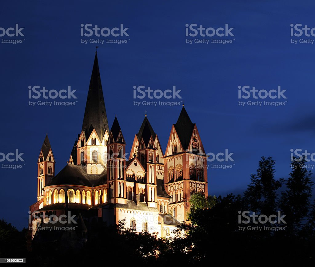 Cathedral of LImburg an der Lahn, Germany stock photo