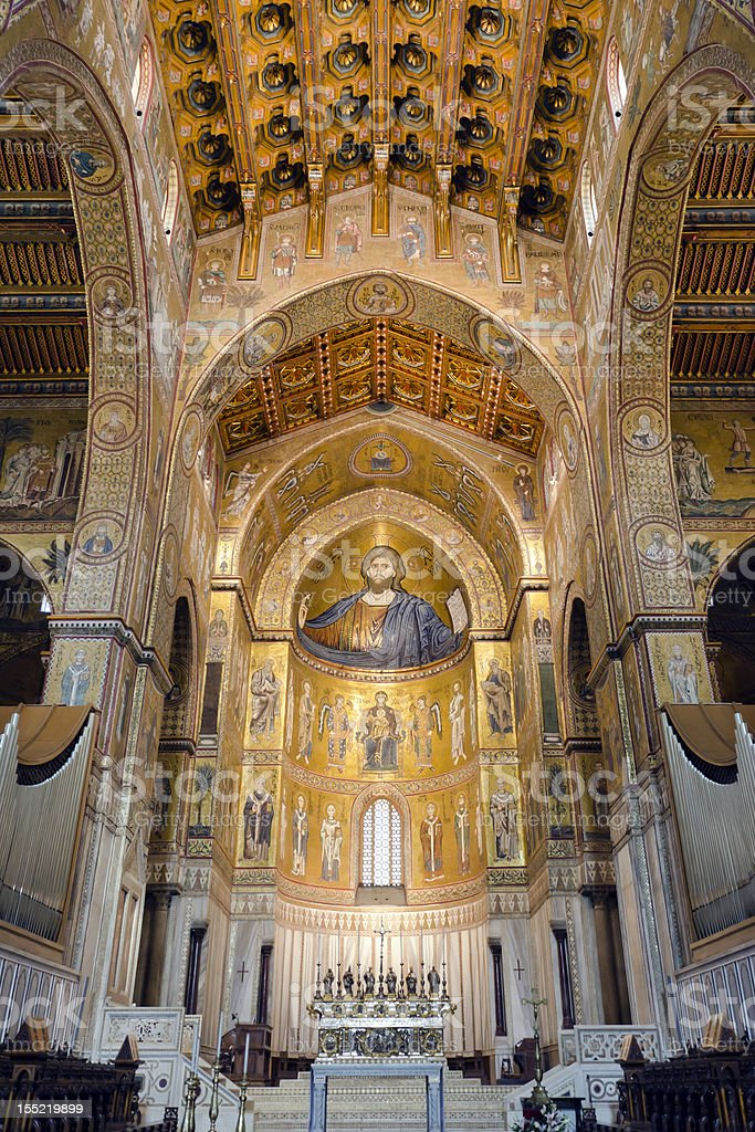Cathedral of Monreale stock photo