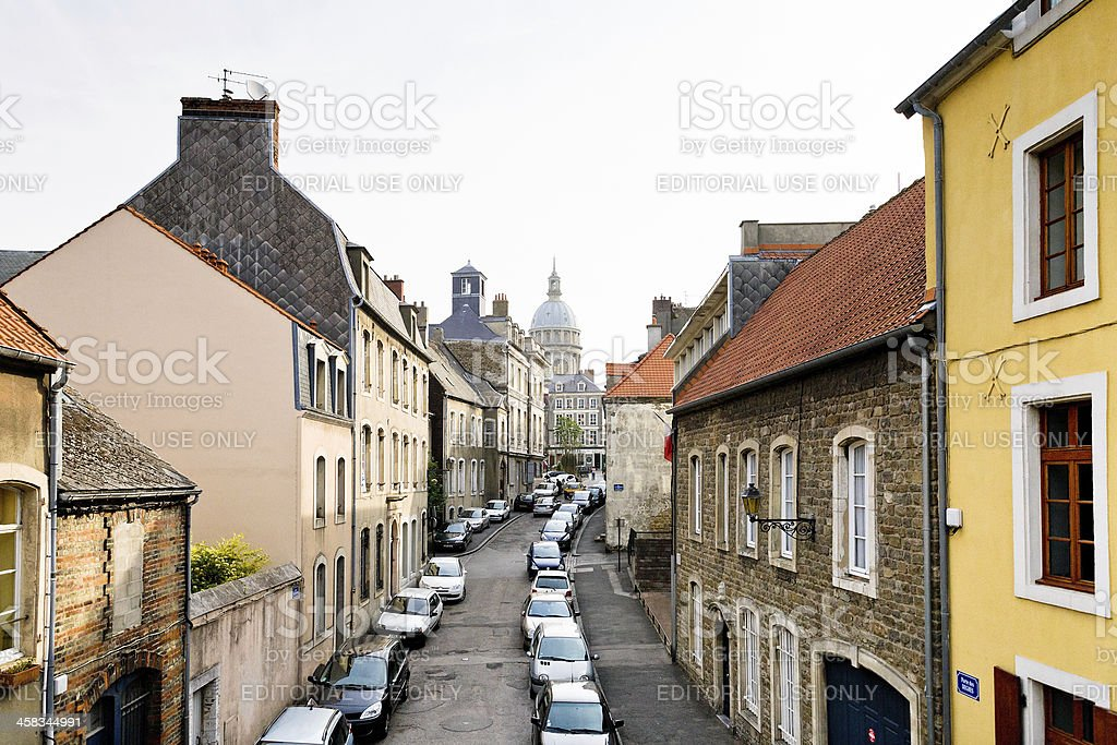 Cathedral of Notre-Dame in Boulogne-sur-Mer stock photo