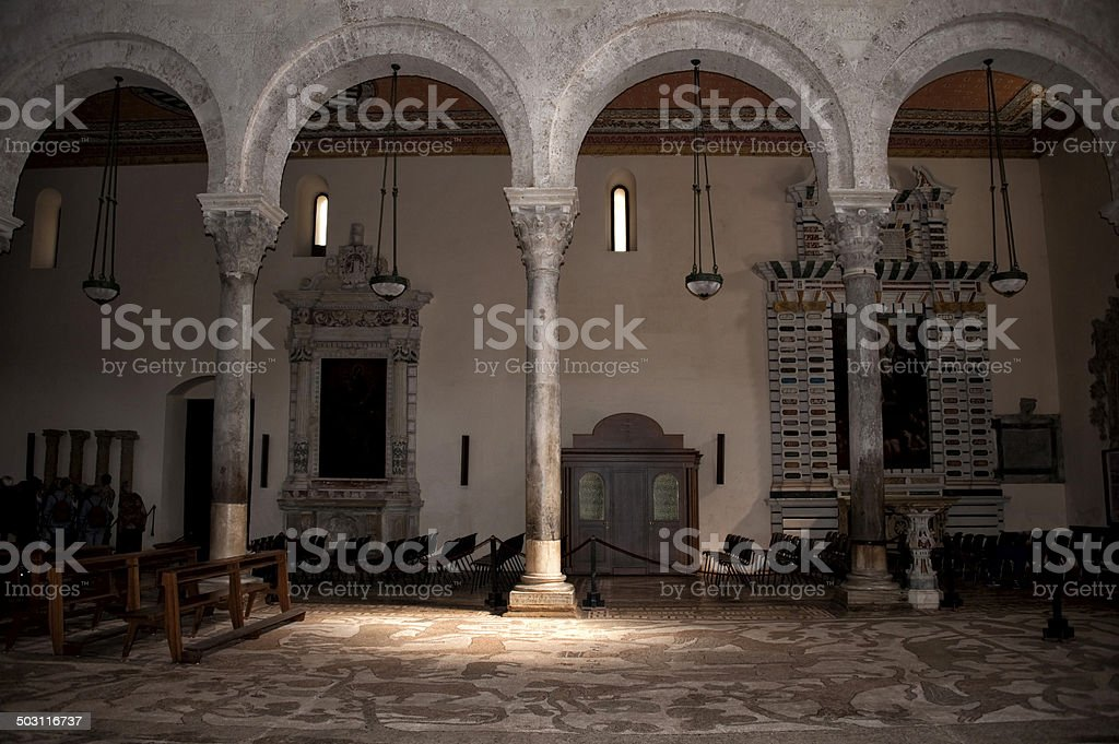 Cathedral of Otranto. stock photo