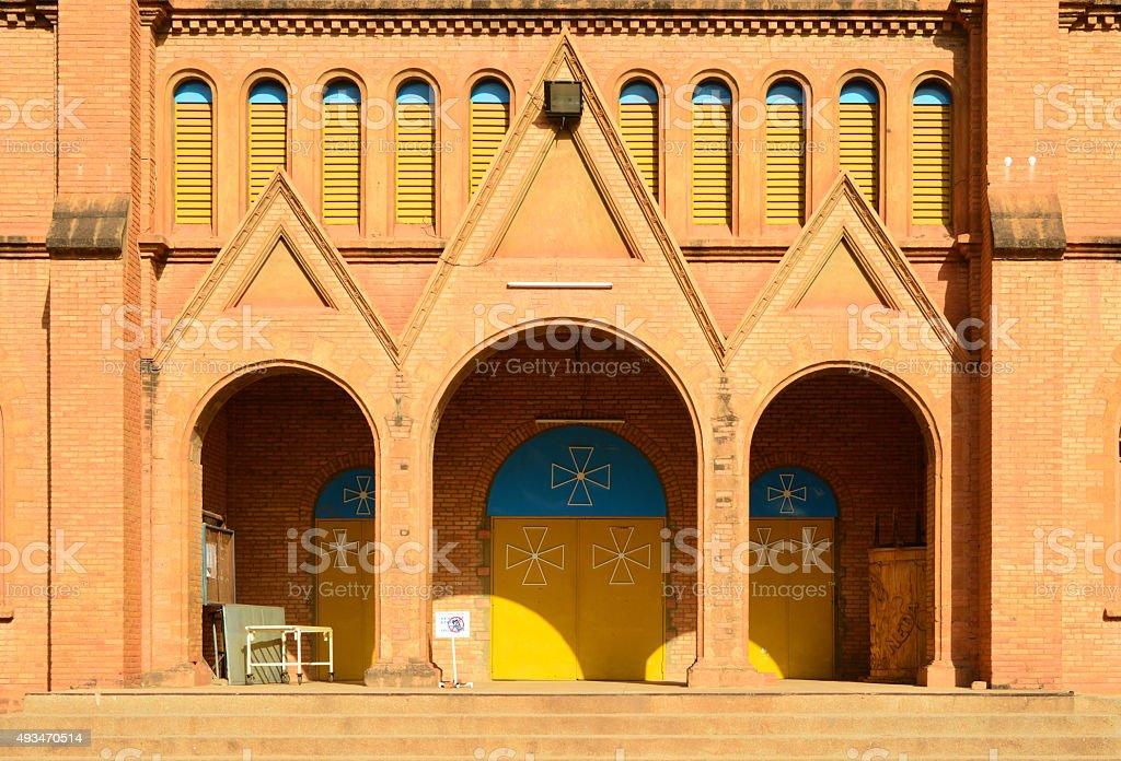 Cathedral of Ouagadougou, Burkina Faso stock photo