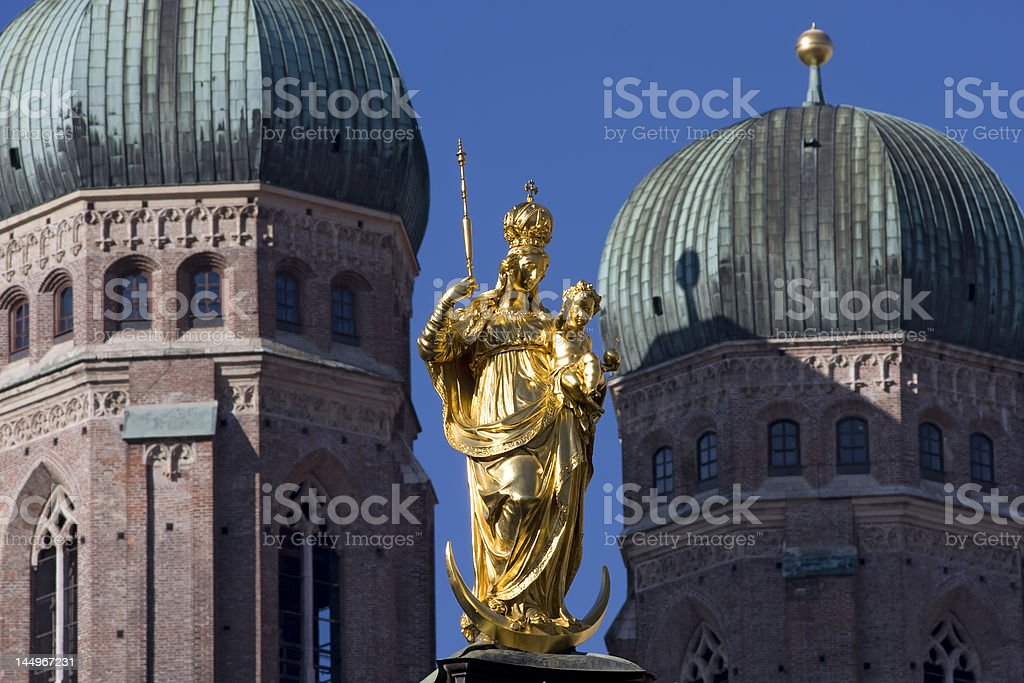 Cathedral of Our Blessed Lady, Munich royalty-free stock photo
