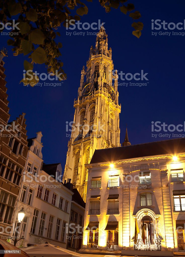 Cathedral of Our Lady royalty-free stock photo