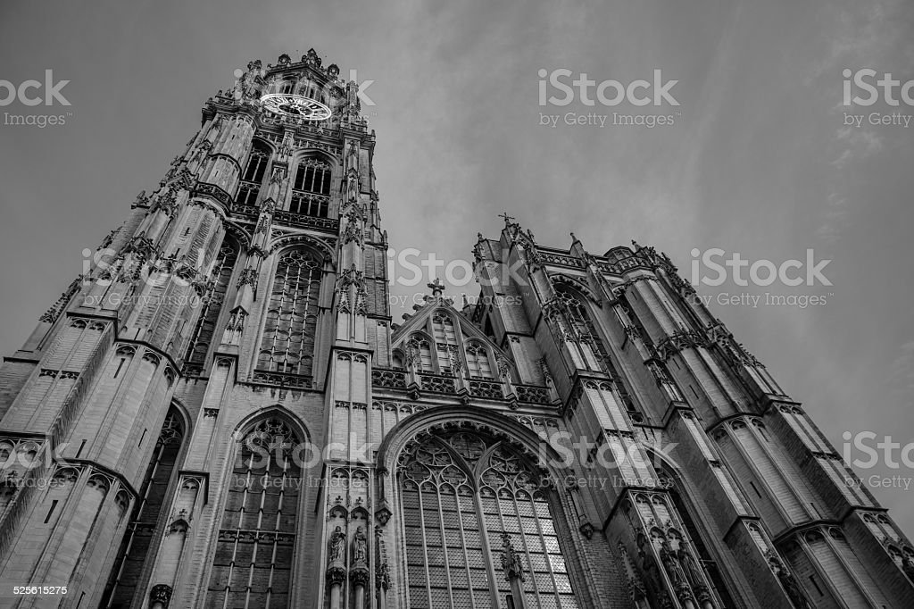 Cathedral of Our Lady stock photo