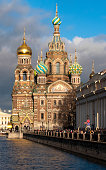 Cathedral of Our Savior on Spilled Blood, Saint-Petersburg, Russia