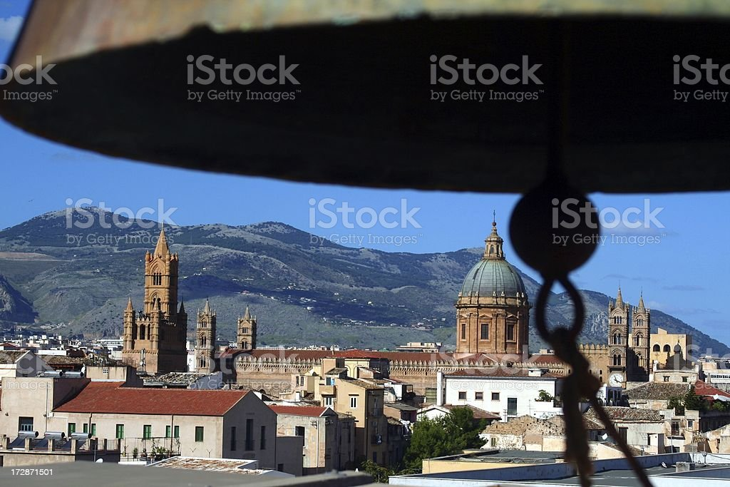 Cathedral of Palermo stock photo