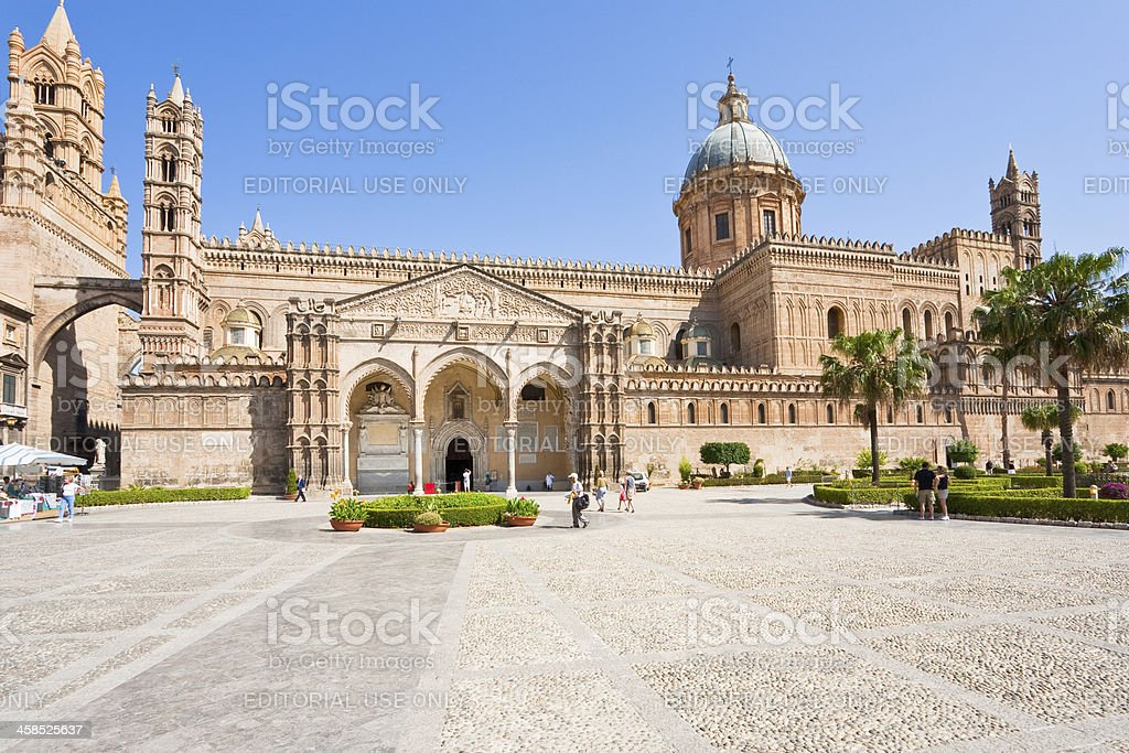 Cathedral of Palermo royalty-free stock photo