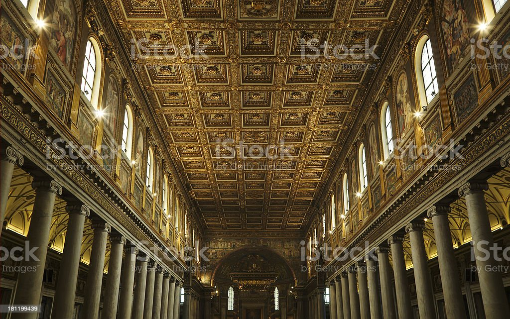 Cathedral of Rome stock photo