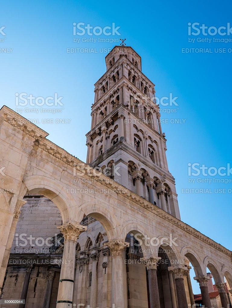 Cathedral of Saint Domnius stock photo