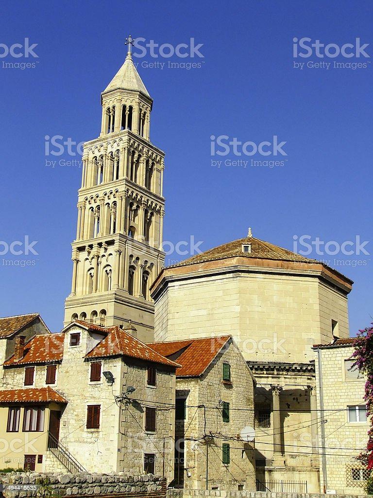 Cathedral of Saint Domnius, Split, Croatia stock photo