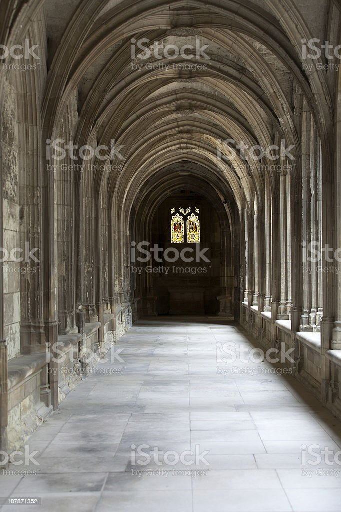 Cathedral of  Saint Gatien in Tours stock photo
