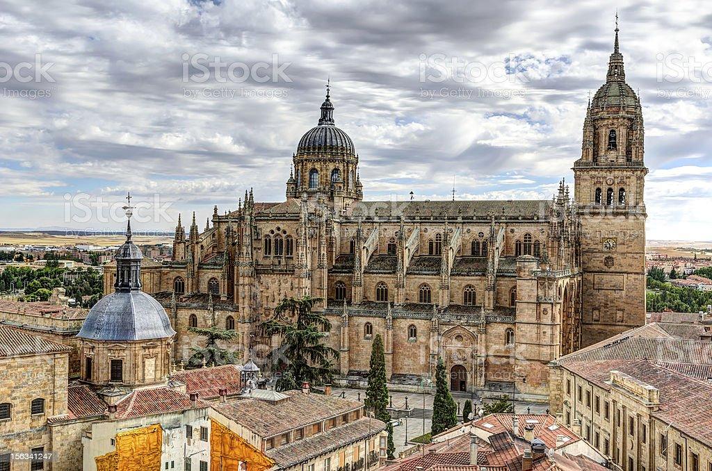 Cathedral of Salamanca, Spain royalty-free stock photo