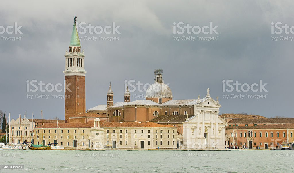Cathedral of San Giorgio Maggiore royalty-free stock photo