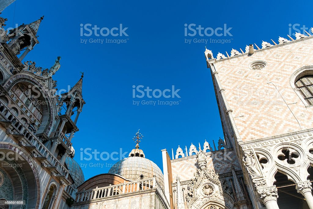 Cathedral of San Marco in Venice, Italy royalty-free stock photo