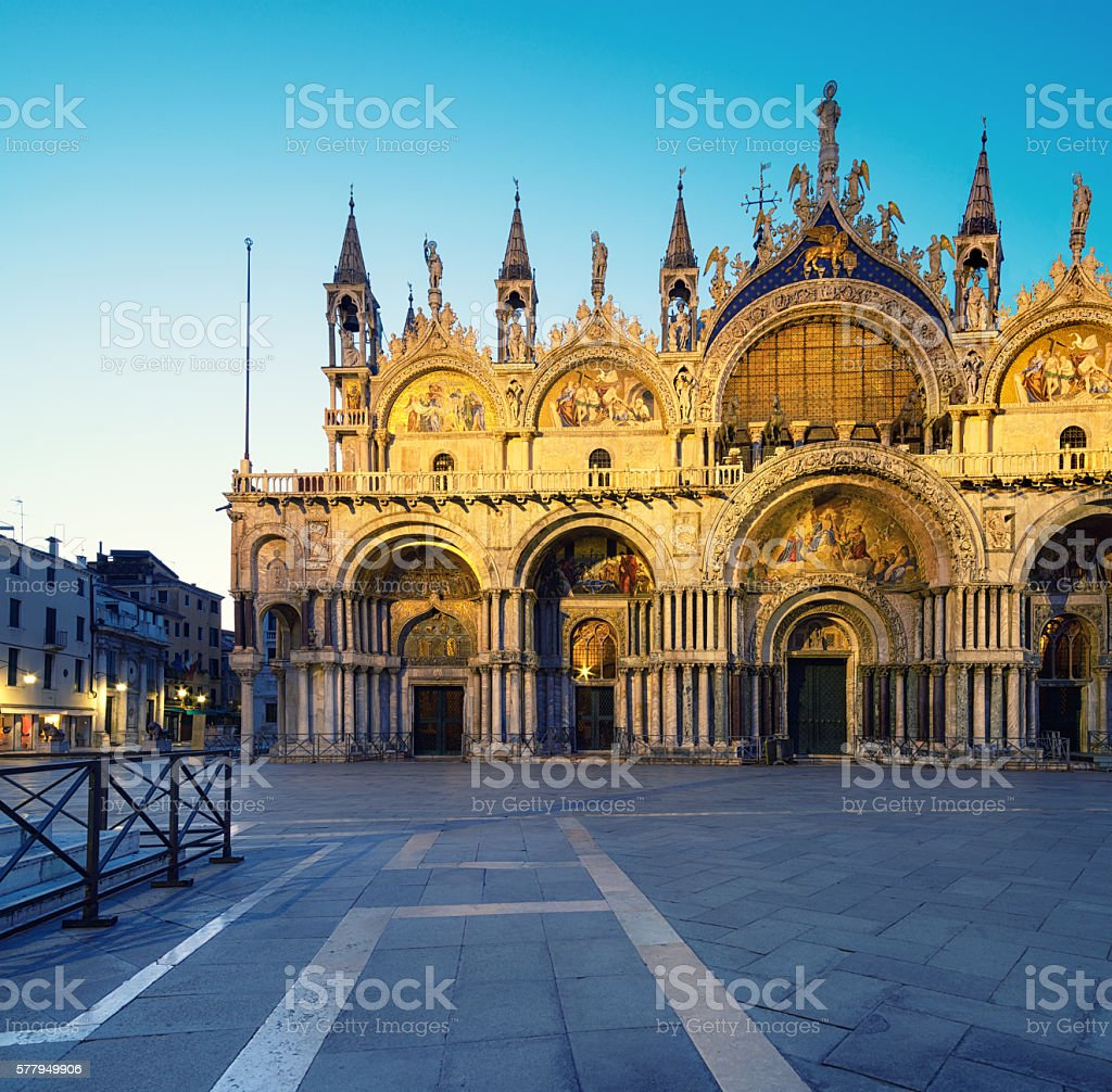 Cathedral of San Marco, Venice, Italy stock photo