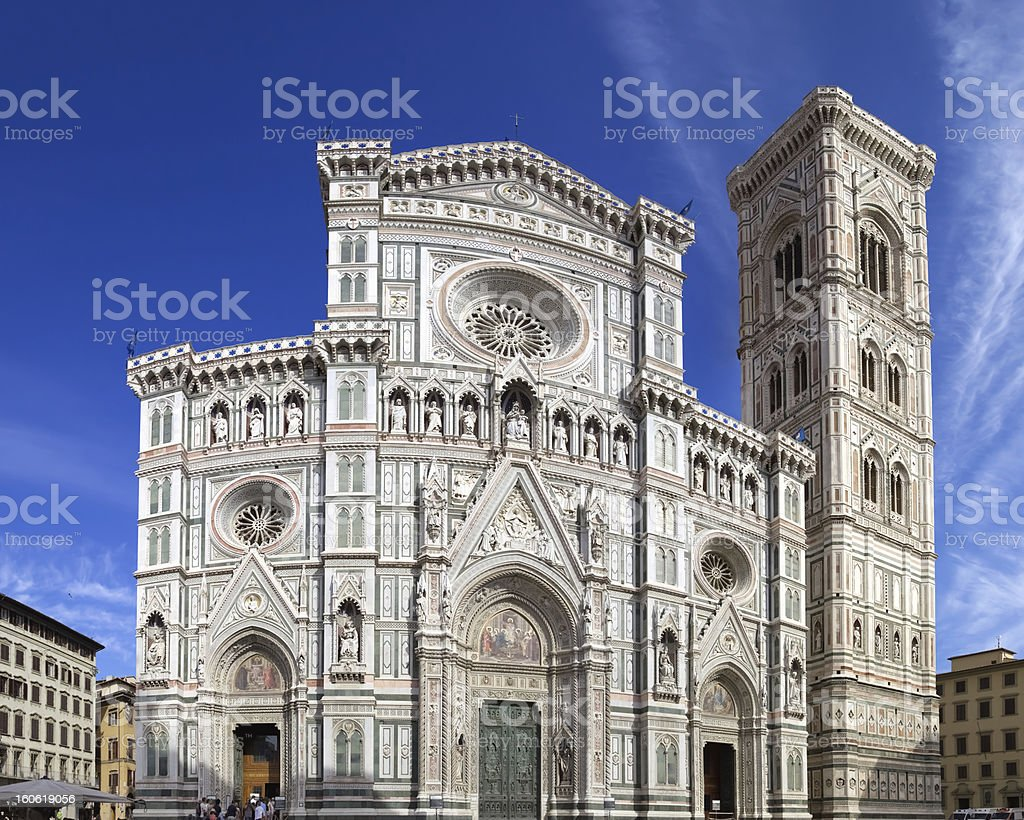 Cathedral of Santa Maria del Fiore, Florence - Italy royalty-free stock photo