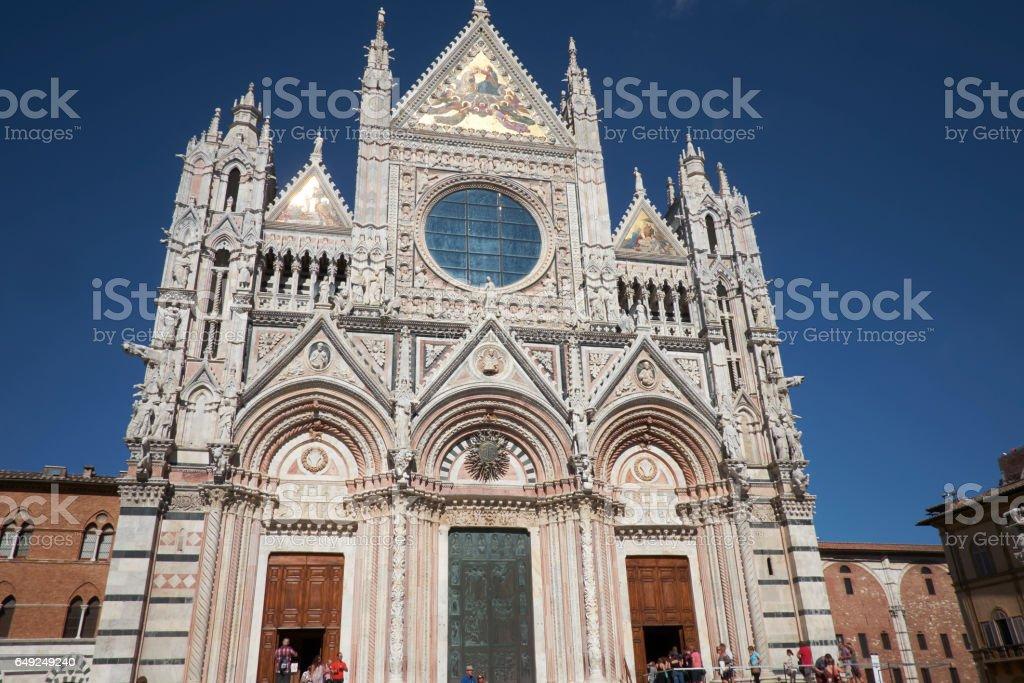 cathedral of Siena, Duomo di Santa Maria Assunta stock photo