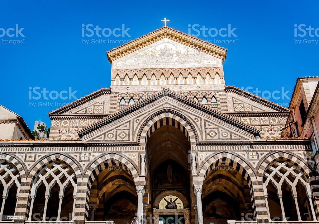 Cathedral of St Andrea stock photo