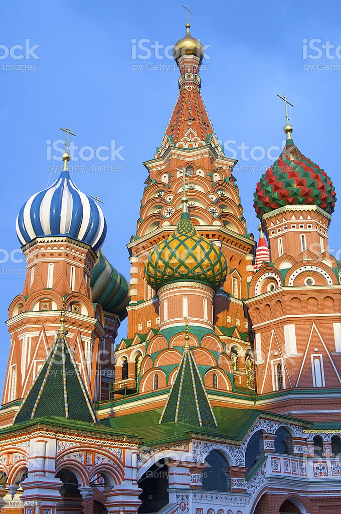 Cathedral of St. Basil royalty-free stock photo