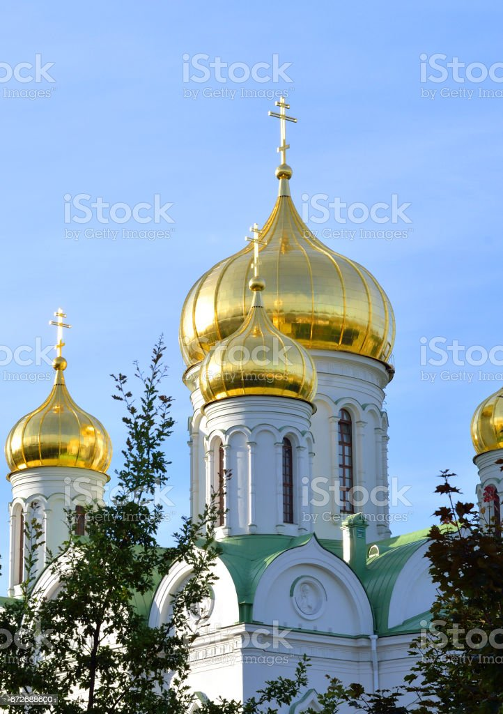 Cathedral of St. Catherine. stock photo