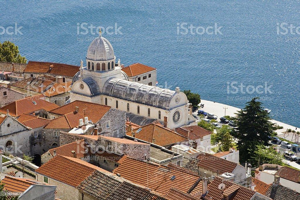 Cathedral of St James. Sibenik, Croatia. royalty-free stock photo