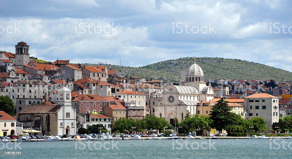 Cathedral of St. James, Sibenik, Croatia stock photo