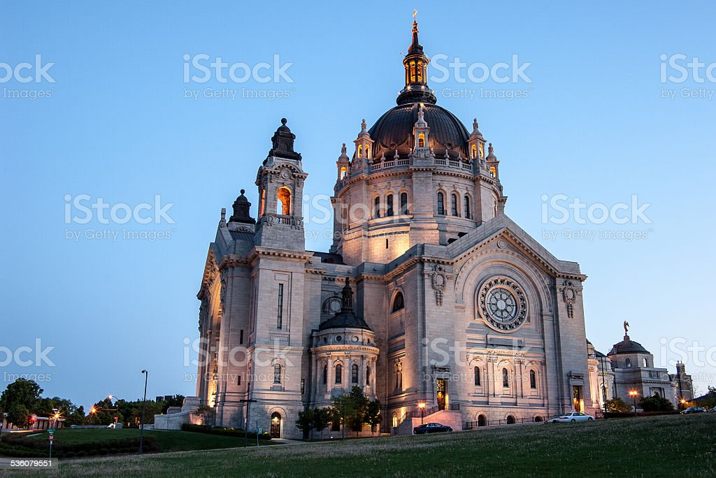 Cathedral of St. Paul stock photo