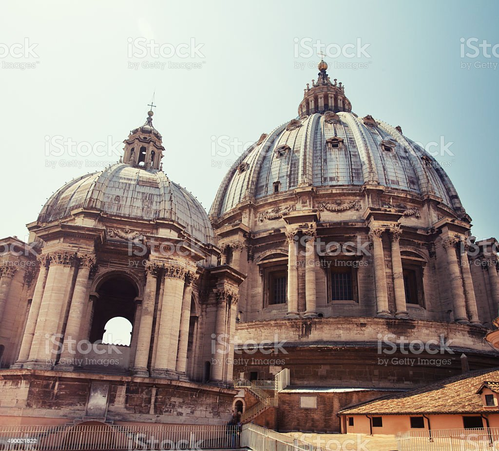 Cathedral of St Peters stock photo