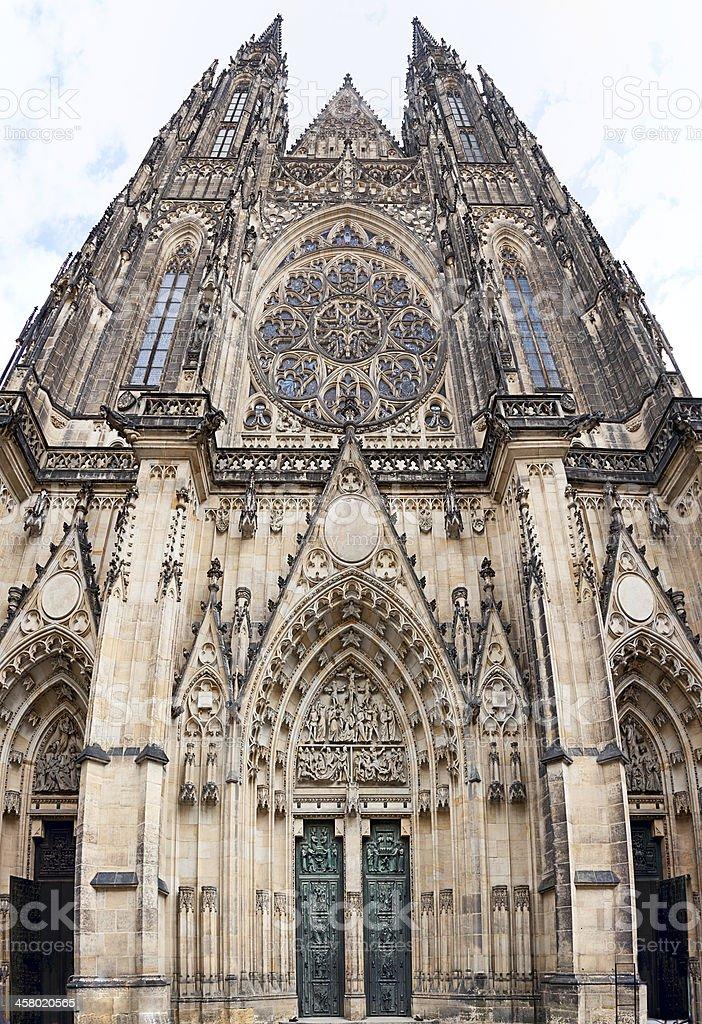 Cathedral of St. Vitus. Prague. Czech Republic . stock photo