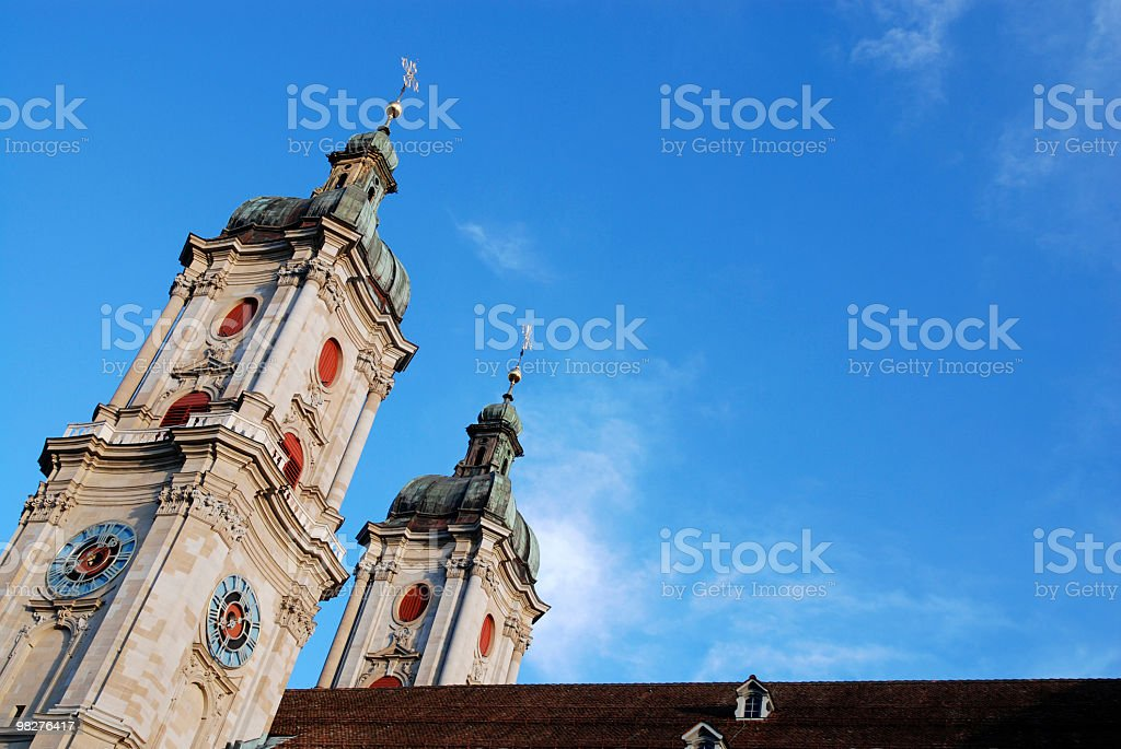 Cathedral of St.Gallen, Switzerland royalty-free stock photo