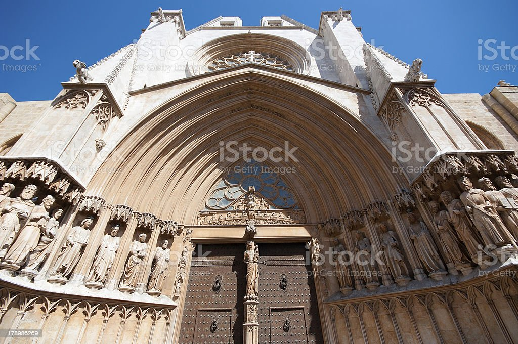Cathedral of Tarragona, Spain. royalty-free stock photo