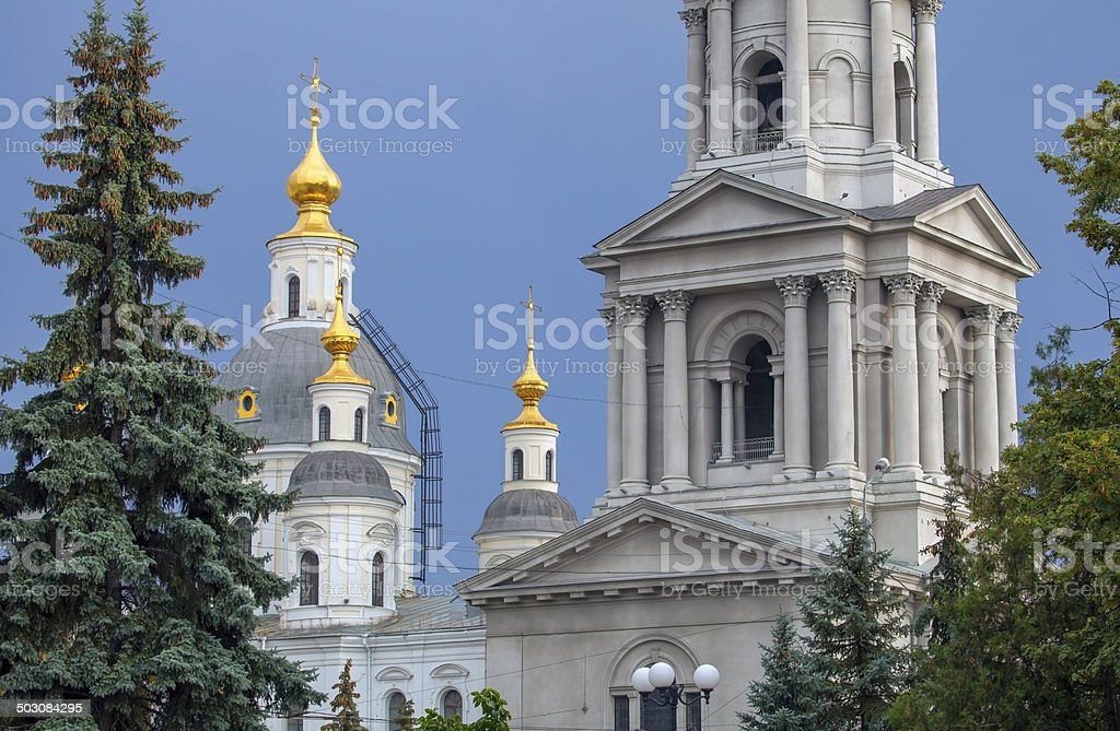Cathedral of the Assumption in Kharkov. royalty-free stock photo