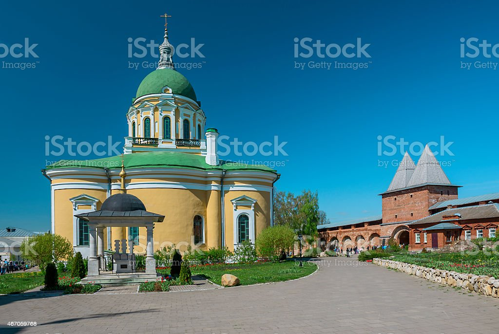 Cathedral of the Behehe Baptist.ading of John t stock photo