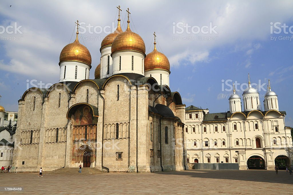 Cathedral of the Dormition stock photo
