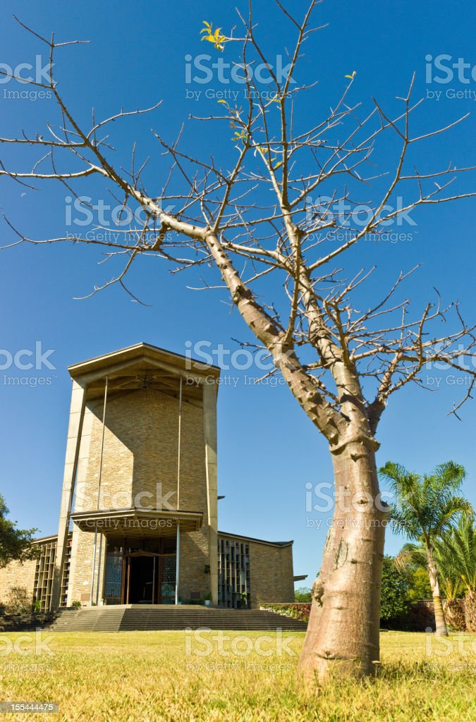 Cathedral of the Holy Cross, Lusaka stock photo