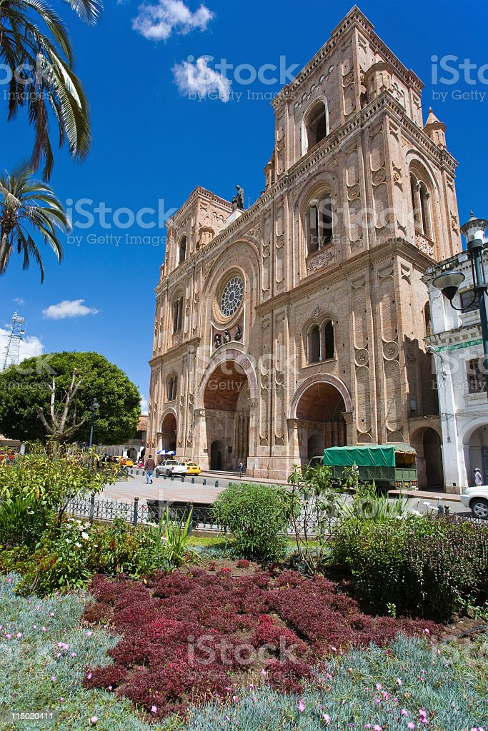 Cathedral Of The Immaculate Conception royalty-free stock photo