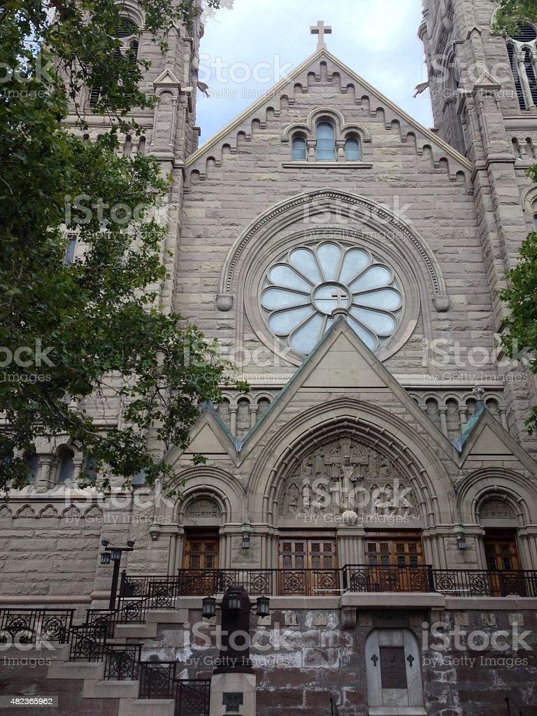 Cathédrale de la Madeleine photo libre de droits