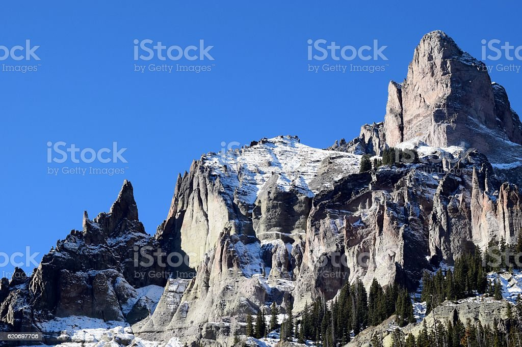 Cathedral of the Mountains stock photo
