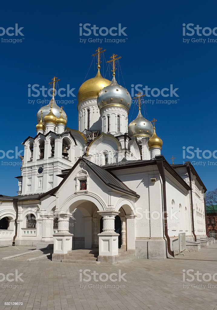Cathedral of the Nativity of the Blessed Virgin Mary stock photo