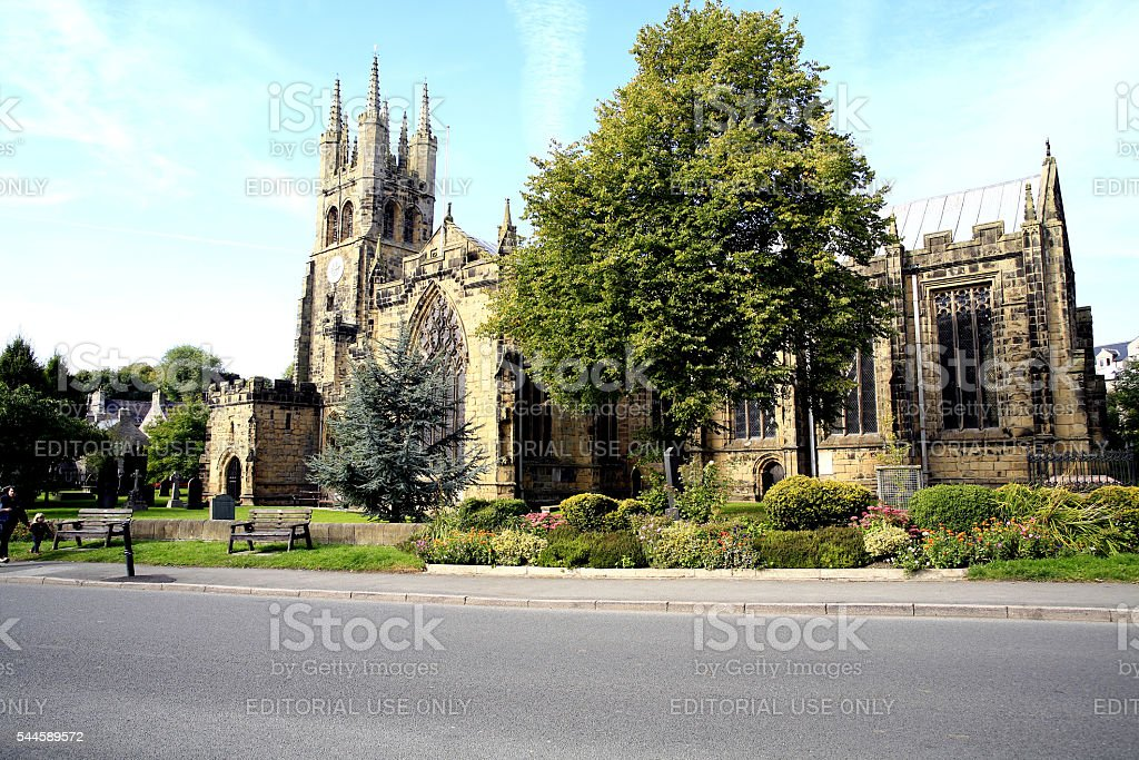 Cathedral of the Peak. stock photo