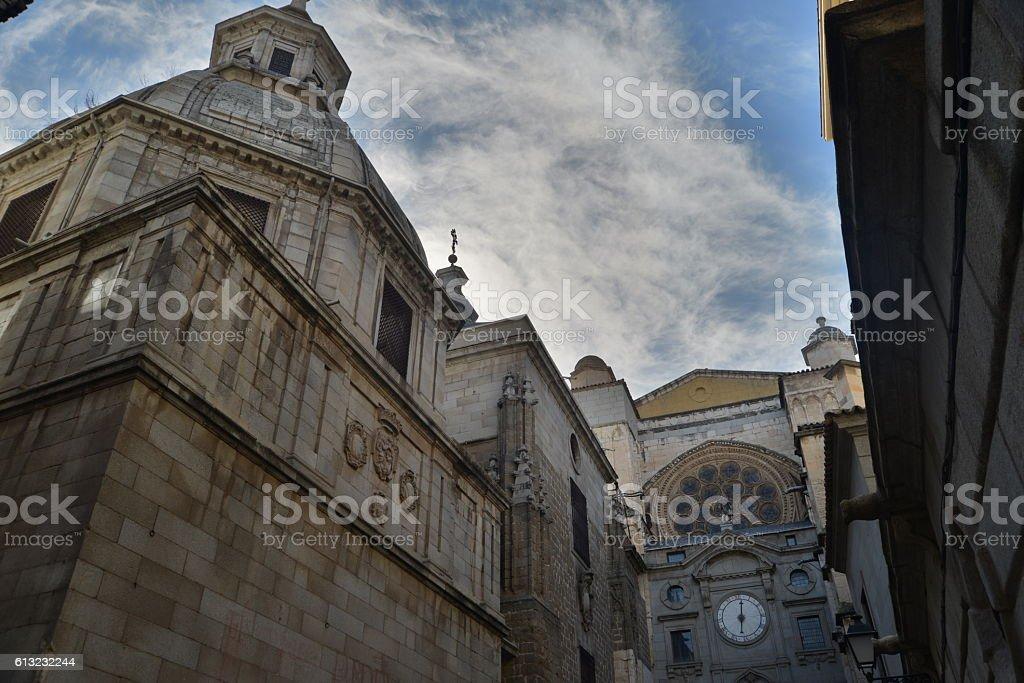 cathedral of Toledo - foto de stock