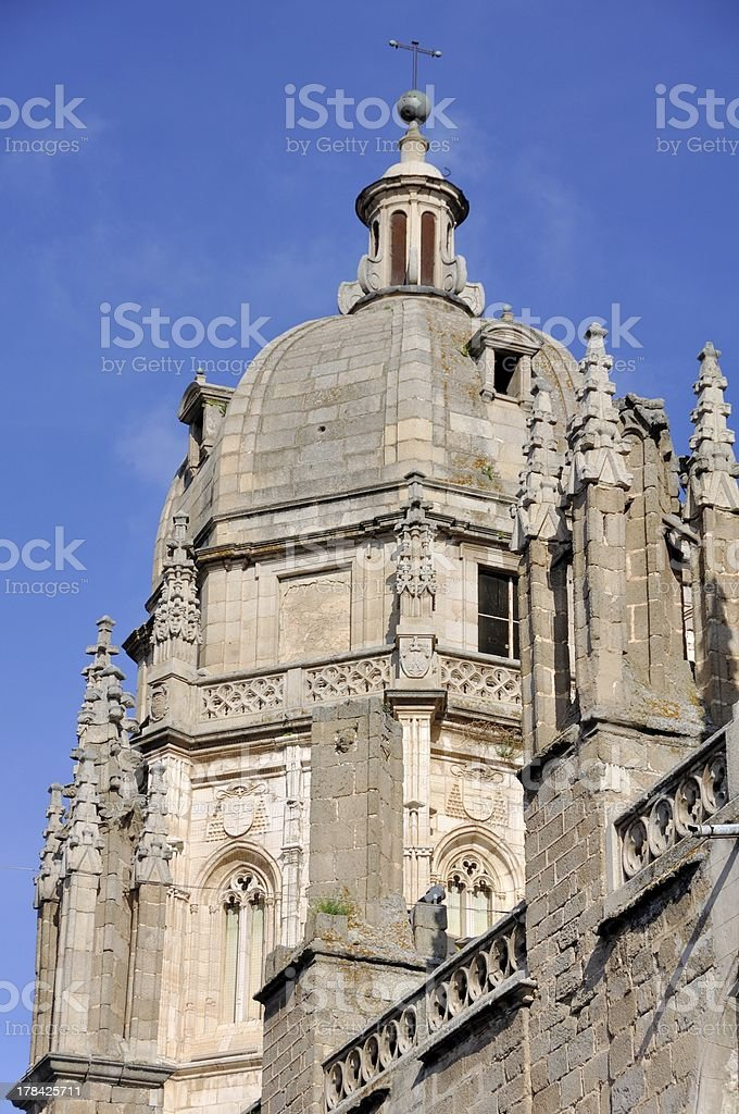 Cathedral of Toledo, Spain stock photo