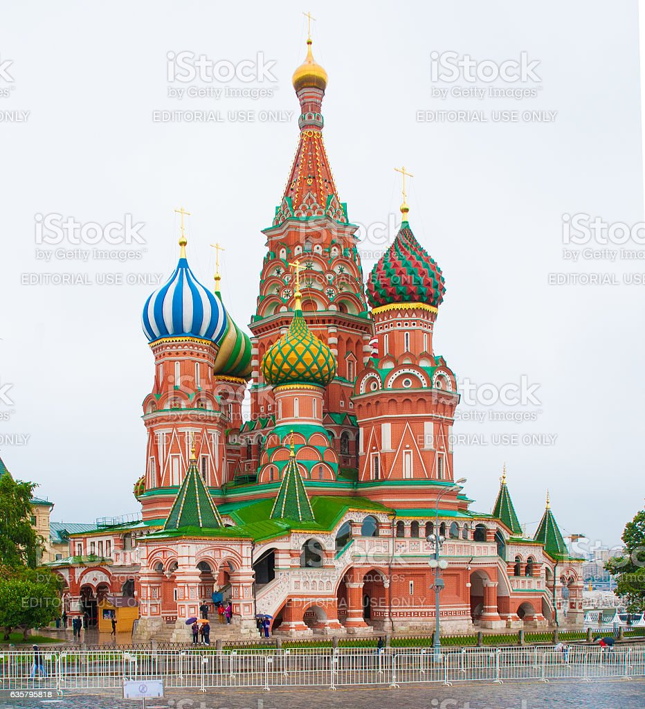 Cathedral of Vasily the Blessed (Saint Basil's Cathedral)2 stock photo