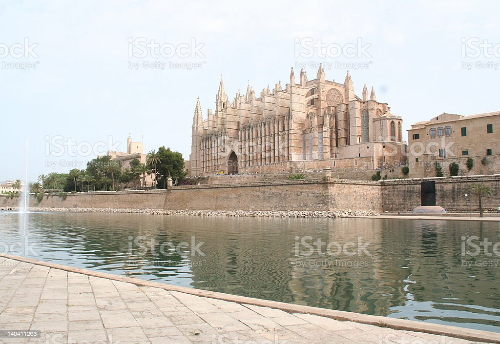 Cathedral, Palma de Mallorca royalty-free stock photo