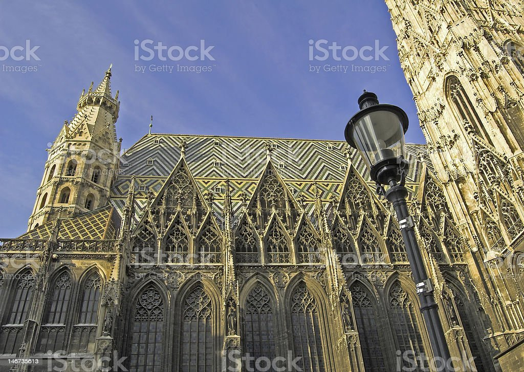 Cathedral. stock photo